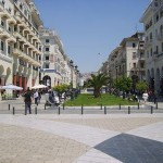 Downtown of Thessaloniki