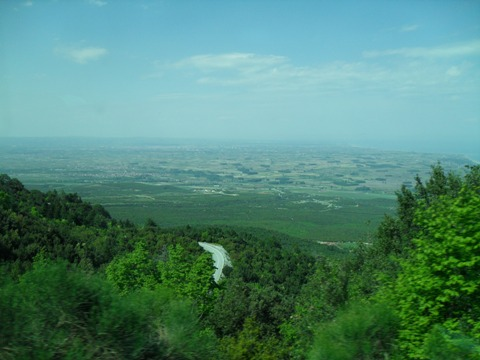 A valley north of the mountain is home to city of Katerini