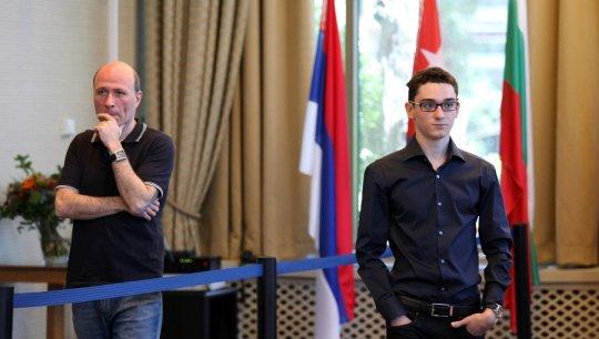 Vladimir Chuchelov and Fabiano Caruana